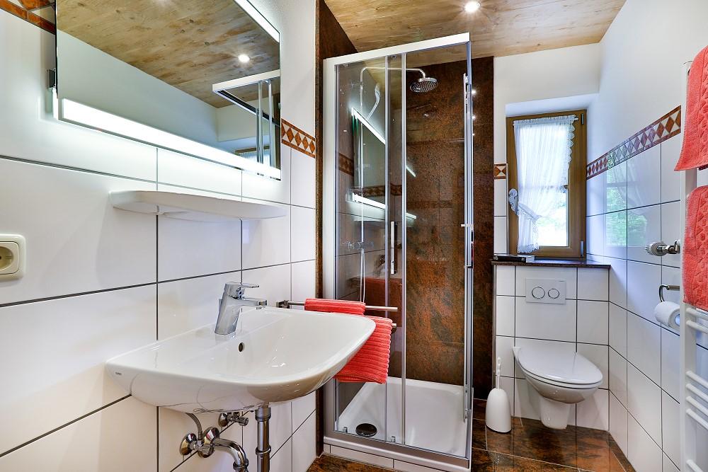 Ferienwohnung für 2 bis 8 Personen im Haus Unterlandtal